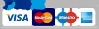 Carte di credito accettate - PayPal - EcoCoccole