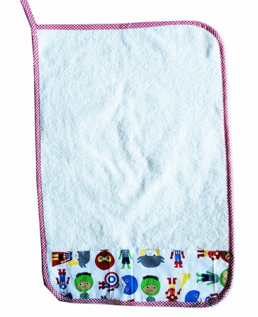 asciugamani-asilo-personalizzato-super-eroi-bianco