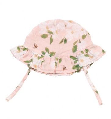 cappellino-estivo-neonata-angel-dear-magnolias