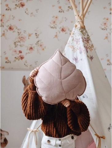 cuscino-foglia-rosa-cipria-moi-mili