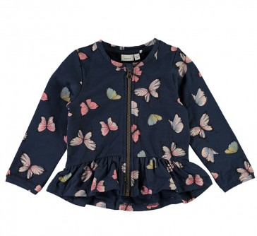 felpa-bambina-cerniera-blu-cotone-biologico-farfalle-nameit