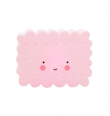 luce-notturna-bambini-a-forma-di-biscotto-rosa-a-little-lovely-company