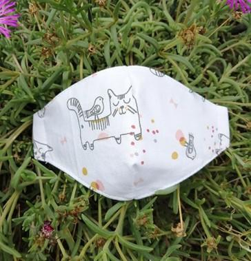 mascherine-per-bambini-lavabili-gatto