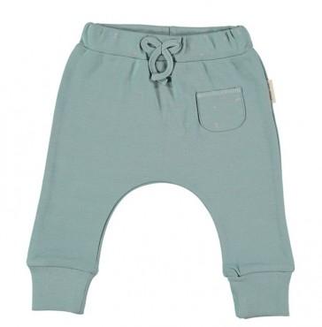 pantalone-in-cotone-pima-verde-petit-oh