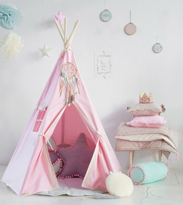 tenda-gioco-bambini-teepee-pink-charm