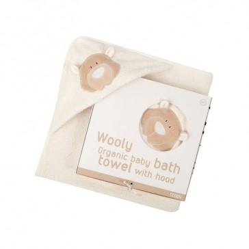 triangolo-neonato-cotone-biologico-wooly-organic-teddy