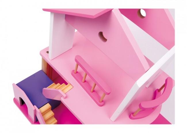 Casa delle bambole in legno usata good kit fai da te casa - Amanda maison segunda mano ...