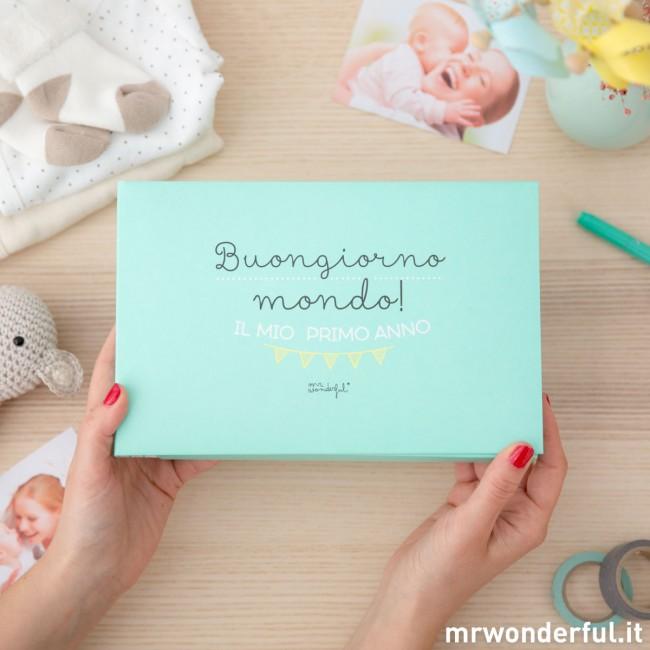 album beb buongiorno mondo il mio primo anno mr wonderful. Black Bedroom Furniture Sets. Home Design Ideas