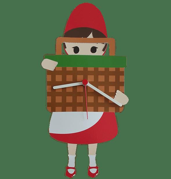 Orologio Per Bambini Cappuccetto Rosso Favole Di Carta Hansgreta