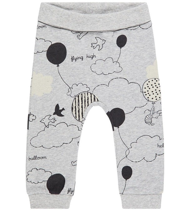 The Pooh Grigio Cotone Name Bimbo Pantaloni It Biologico Winnie PnfzZIqx1