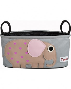 porta-oggetti-passeggino-3sprouts-elefante