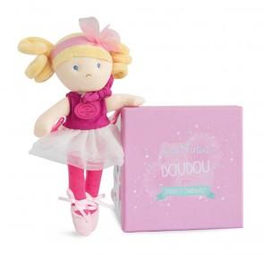 bambola-ballerina-doudou-et-compagnie-fuchsia