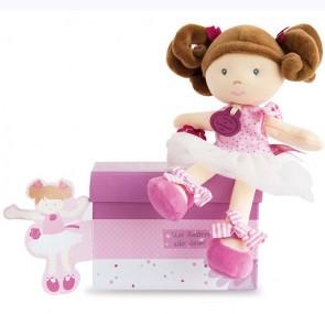 bambola-ballerina-pois-rose-doudou-et-compagnie