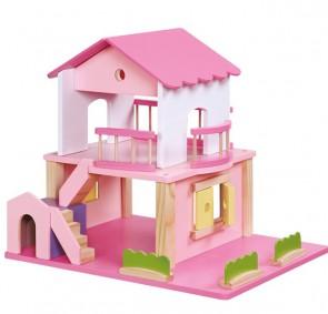 casa-bambole-legno-rosa-legler-small-foot
