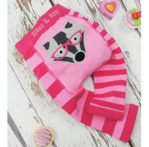 leggings-bambina-neonata-pink-badger-blade-and-rose