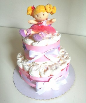 torta-di-pannolini-bimba