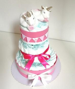 torta-di-pannolini-unicorno-babbucce