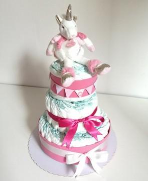 torta-di-pannolini-unicorno